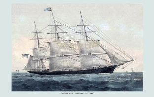 Clipper Ship - Queen of Clippers